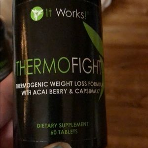 Thermofight it works. 60 capsules